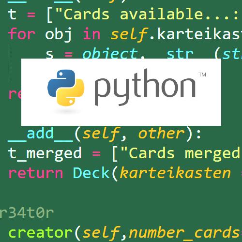 Online Programmieren mit Python ab 9 Jahre (Teil 2/2)