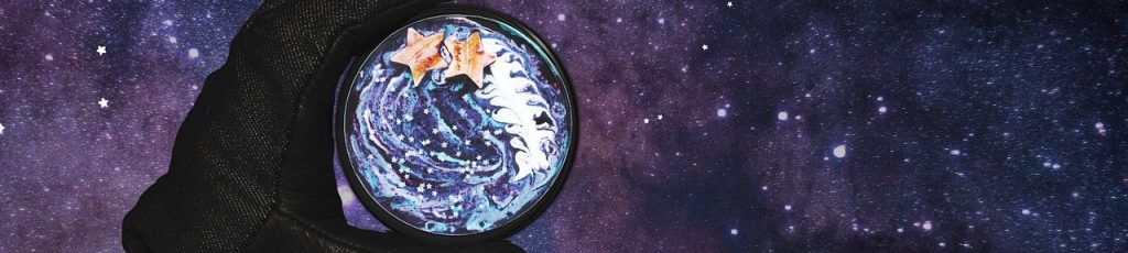 Night Astronomy Cosmos Coffee Universe Galaxy Sky