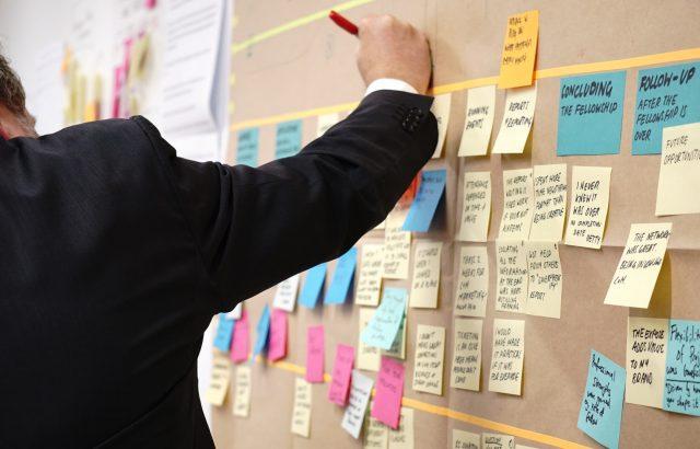 Projektmanagement Board